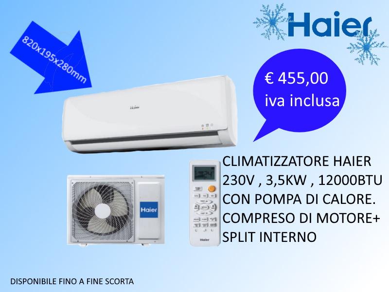 climatizzatori 12000BTU